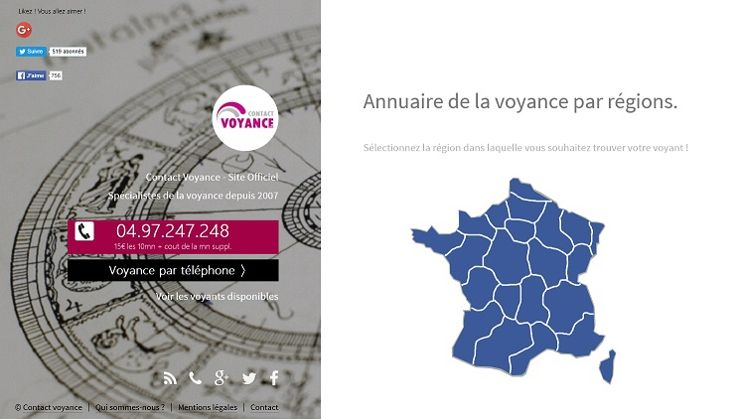 Annuaire Voyance France